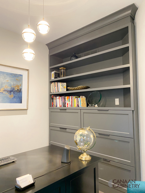 Home office desk and wall unit 2