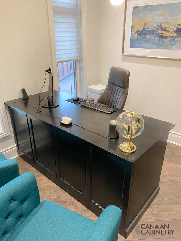 Home office desk and wall unit 5