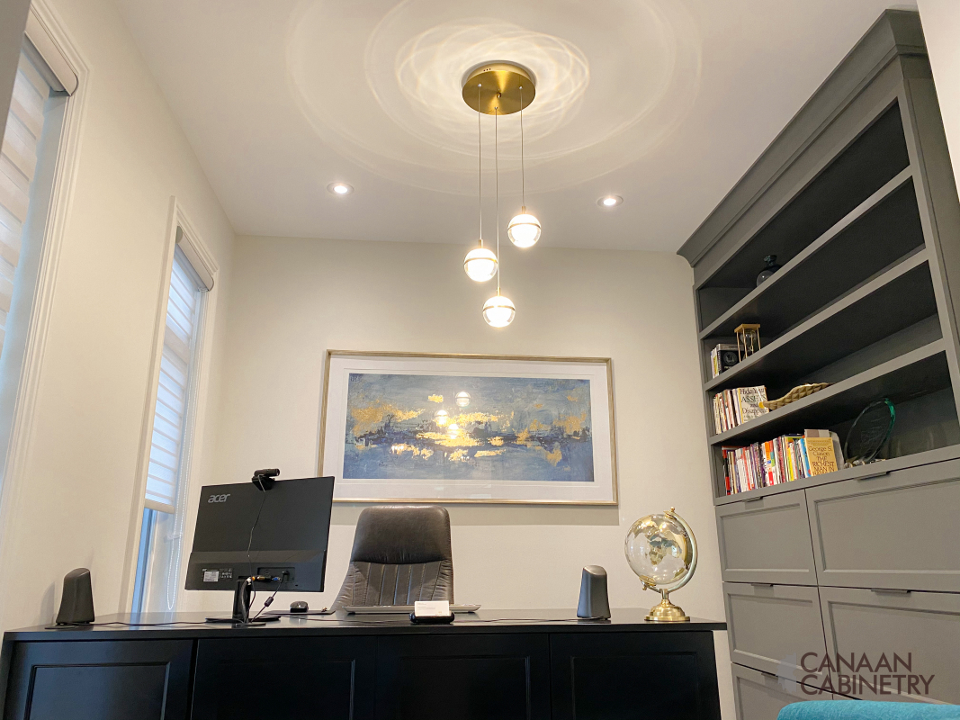 Home office desk and wall unit 11