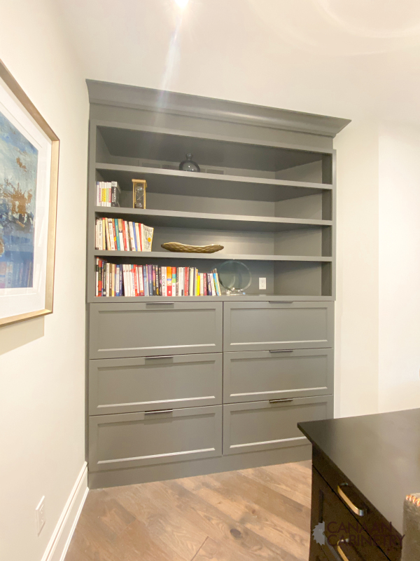 Home office desk and wall unit 14